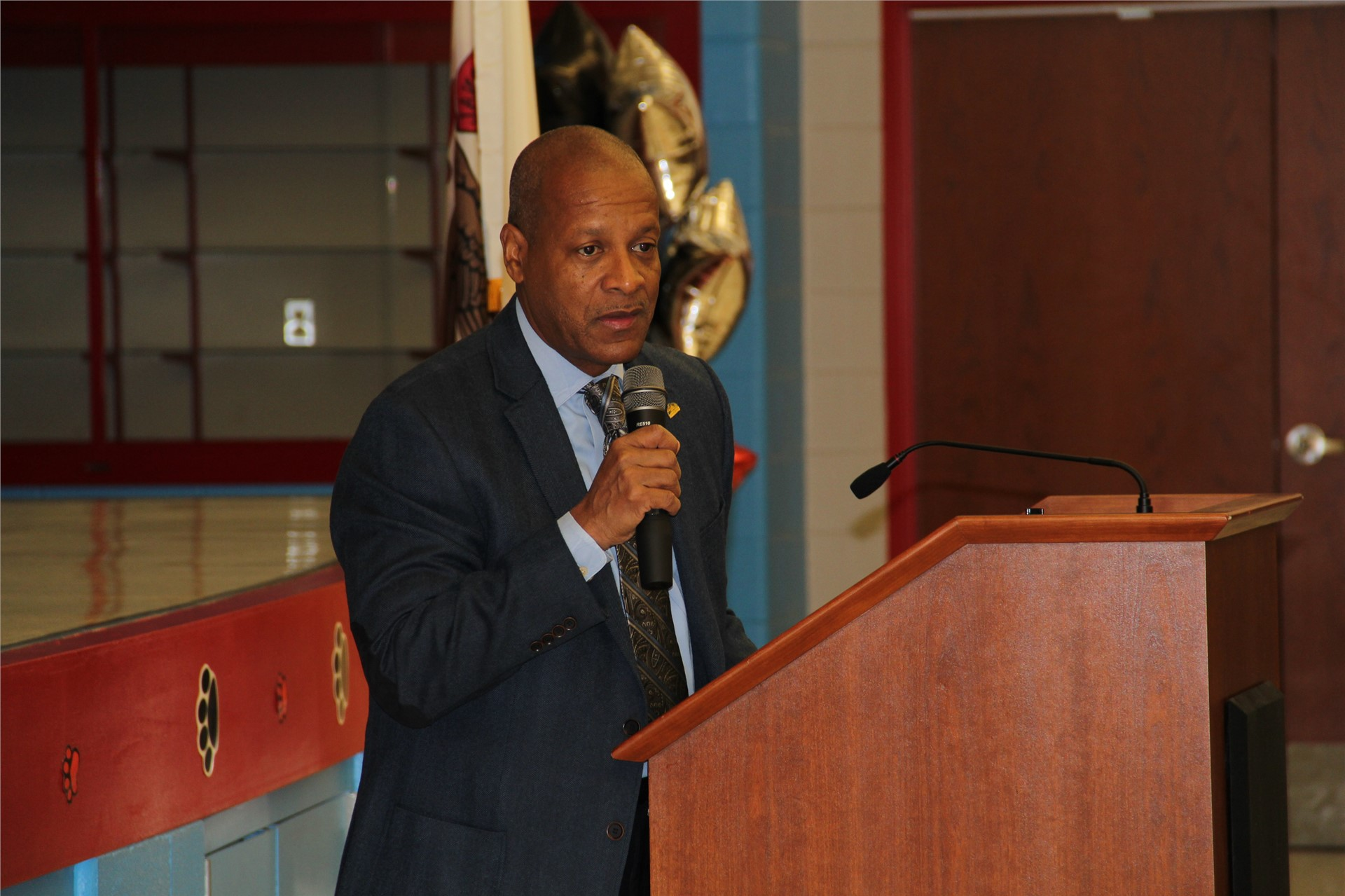 Jesse White Learning Academy ribbon cutting ceremony