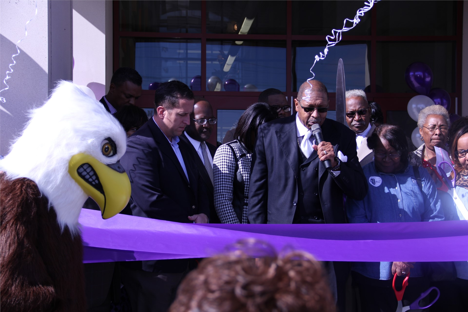 Barack Obama Learning Academy ribbon cutting ceremony