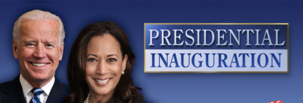 The 46th Presidential Inauguration Live Stream on 1-20-21 @ 10:00AM